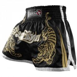 Hayabusa Premium Muay Thai Shorts Black