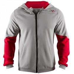 Abverkauf Hayabusa Wingback Hoodie Grey Red