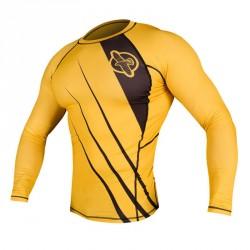 Hayabusa Recast Rashguard LS Yellow Black