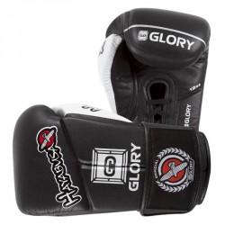 Hayabusa Glory 12oz V Lace Gloves Black