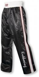 Paffen Sport Kick Star Kickboxhose schwarz weiss rot