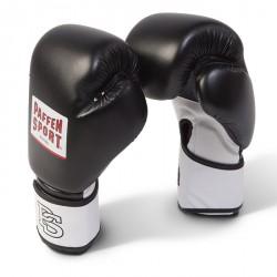 Paffen Sport Fit Line Schwarz Mesh Boxhandschuhe Training