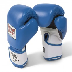 Paffen Sport Fit Line Blau Mesh Boxhandschuhe Training