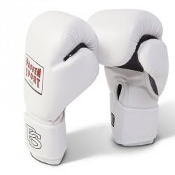 Paffen Sport Fit Line Weiss Mesh Boxhandschuhe Training