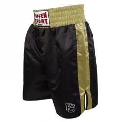 Paffen Sport Pro Profi Boxerhose Schwarz Gold