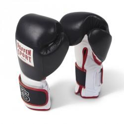 Paffen Sport Pro Performance Sparring Boxhandschuhe Schwarz Weiss Rot