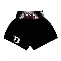 Booster TBT Plain Black Muay Thai Short