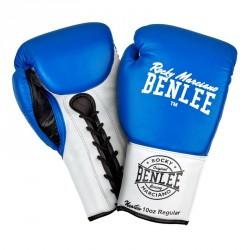 Benlee Professional Boxing Gloves Newton Blue White Black