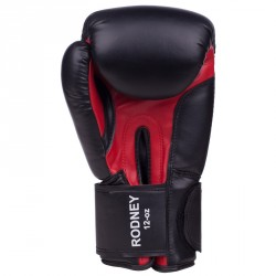 Benlee Artif. Leather Boxing Gloves Rodney Black Red