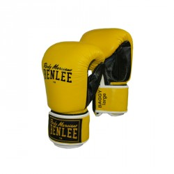 Benlee Baggy Leather Bag Mitts Yellow Black