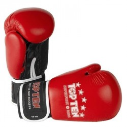 Top Ten SUPERFIGHT 3000 Leder Boxhandschuh rot