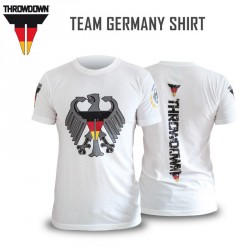 Throwdown Team Germany Shirt White
