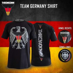 Throwdown Team Germany Shirt black