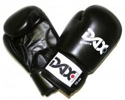 Dax Boxhandschuhe TT Leder Rot Schwarz