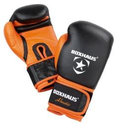 Abnotic Leder Boxhandschuhe Klettverschluss