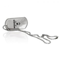 BOXHAUS Brand Dogtag Give Respect