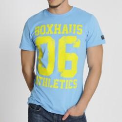 Abverkauf BOXHAUS Brand Athl 06 Tee sky blue