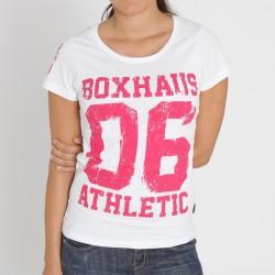 Abverkauf BOXHAUS Brand Athl 06 Women Tee white