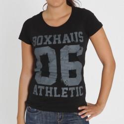 Abverkauf BOXHAUS Brand Athl 06 Women Tee black L XL