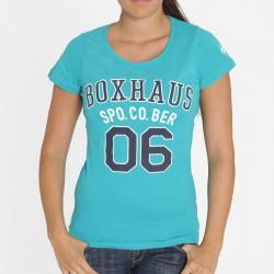 Abverkauf BOXHAUS Brand Spo. Co. Women Shirt türkis