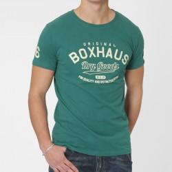 Abverkauf BOXHAUS Brand Levin Tee lake green XS u.S