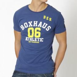 Abverkauf BOXHAUS Brand Trust Tee true blue XS S