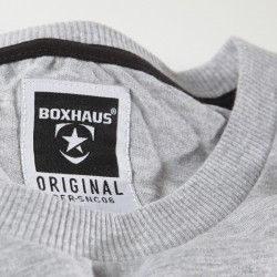Abverkauf  INCEPT basic Shirt grey htr by BOXHAUS Brand