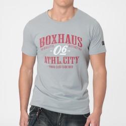 Abverkauf  BOXHAUS Brand Tarino Tee Silver Grey