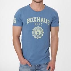 BOXHAUS Brand Doah T-Shirt streetblue