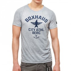 Summersale BOXHAUS Brand SOAR T- Shirt Grey