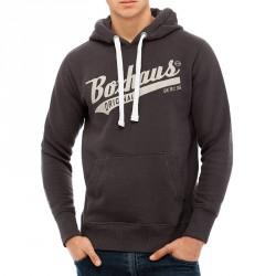 Abverkauf BOXHAUS Brand Sweat Hoodie Draft beluga