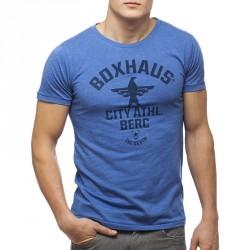 Abverkauf  BOXHAUS Brand SOAR T-Shirt blue htr