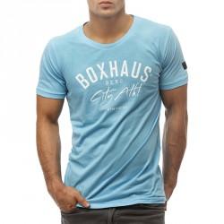 BOXHAUS Brand Sisco T-Shirt aqua
