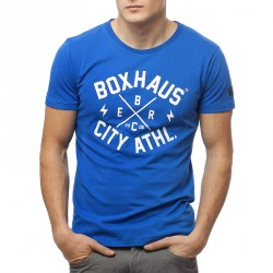 BOXHAUS Brand Core T-Shirt Blue