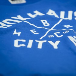 Abverkauf  BOXHAUS Brand Core T-Shirt Blue