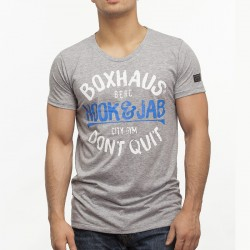 Summersale BOXHAUS Brand Rayto Shirt grey htr