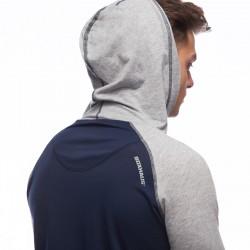 Abverkauf  Incept Kapuzenshirt LS blue-grey htr