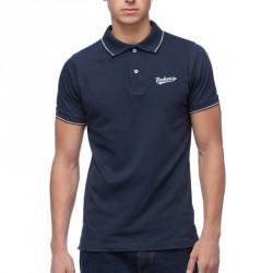BOXHAUS Brand Sairon Poloshirt navy