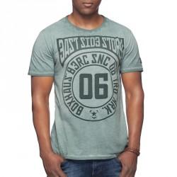 Summersale BOXHAUS Brand E.S.S. T-Shirt ake green