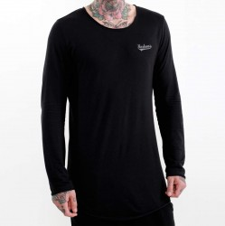 BOXHAUS Brand Sairon Longline black