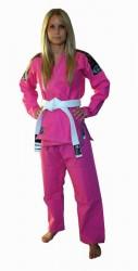 Okami BJJ Gi Warrior pink