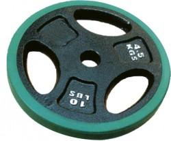 Abverkauf Spartan Hantelscheiben mit Gummiüberzug 5.0kg - 10.0kg