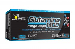 Abverkauf Olimp L-Glutamine Mega Caps 120Kaps,