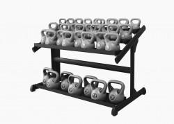Gym80 Kettlebell Rack 4909