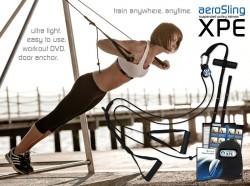 Abverkauf aeroSling XPE Slingtrainer mit Umlenkrolle