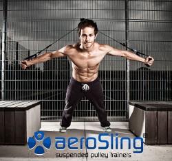 aeroSling Elite Slingtrainer Clubversion mit Umlenkrolle
