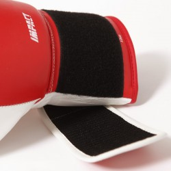7PUNCH Impact Boxhandschuhe Leder red