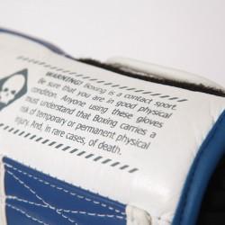 7PUNCH Impact Boxhandschuhe Leder blue