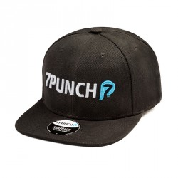7Punch M-Mission Snapback Cap black