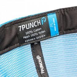 Abverkauf 7Punch Snapback Trucker Cap range blue